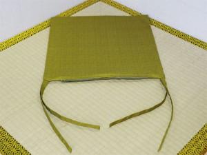 寿司屋カウンター椅子背もたれひも付き座布団カバー