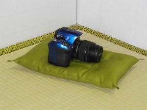 一眼レフカメラ用座布団
