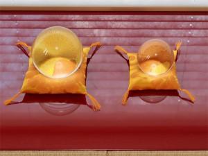 水晶玉用座布団