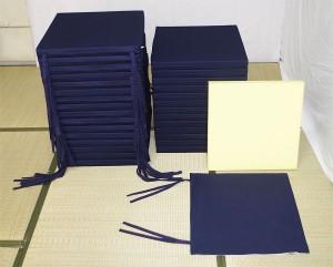 業務用ウレタン芯-結びひも付き座布団カバー