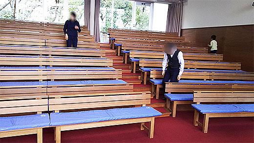 業務用教会長椅子クッション