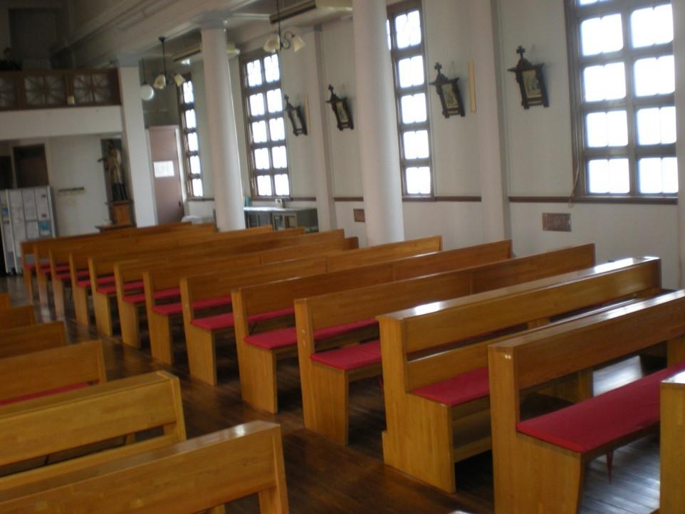 キリスト協会用椅子クッションオーダーメイド